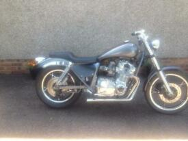 Suzuki GS 1000E Custom Built Street Fighter