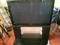 """42"""" Panasonic TV with build in Speakers & stand."""