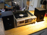 Toshiba 1980's music centre record player/radio /tape /speakers Reading RG4 8ND