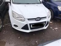 Ford. Focus. Front Bumper White. Complete inc Fogs + Grills