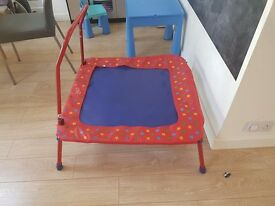 Galt folding toddlers and childrens trampoline. Used but good condition
