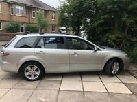 Mazda6 Estate 2.0 TD TS 5dr. Very good condition, LOW MILAGE