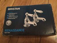 Bristan bath taps (new unused)