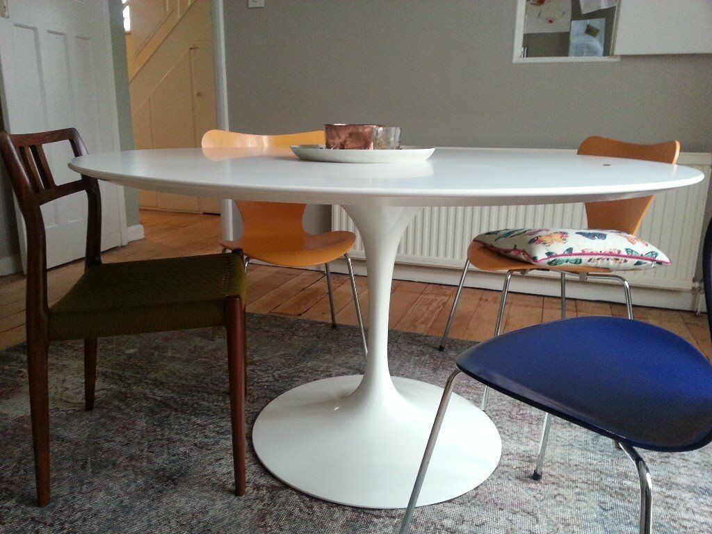 Original Knoll Saarinen Tulip Table Cm In South East London - Original saarinen tulip table