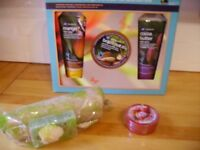 Boots Gift set Body butter from Body Shop plus luffa gift set