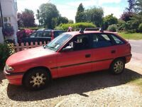Vauxhall Astra Automatic 1998 low mileage reliable