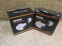 RHINO 2kw fan heaters x2