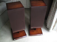 "Speakers – Castle Acoustics ""Pembroke II"", complete with Conway Stands"