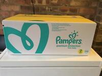 Pampers unopened 240 pack - SIZE 2