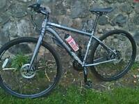 VOODOO MARISA HYBRID, SIZE MEDIUM, VERY GOOD CONDITION, COMES WITH SHIMANO HYDRAULIC BRAKES, £140