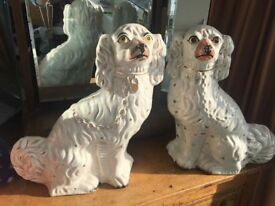 Vintage stafforshire dogs 2