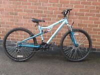 """Apollo Entice Women's Mountain Bike - 14"""" Frame . 26 x 2.0 tyres. ONLY USED ONCE ."""