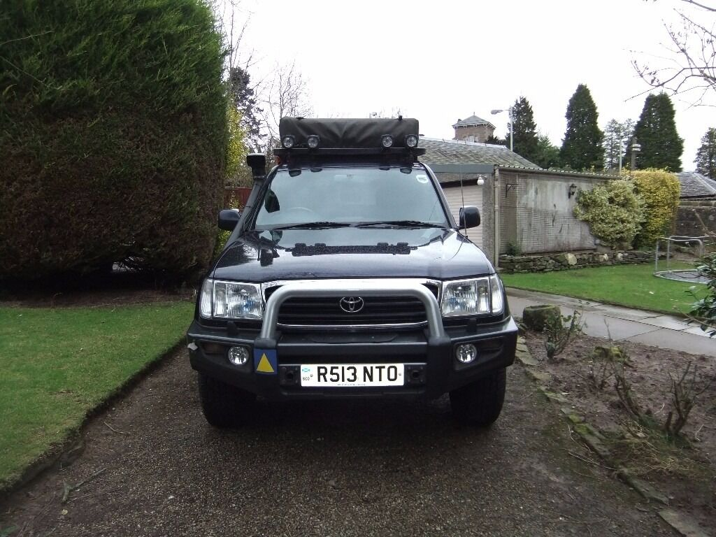Toyota Landcruiser Amazon, fully prepared for Expedition or Overlanding