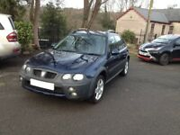 PART EXCHANGE TO CLEAR 2005 05 reg ROVER STREETWISE SE 1400CC /new mot/ford fiesta