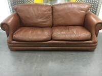 Leather sofa •free delivery