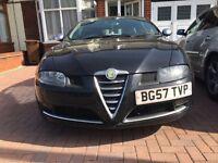 Alfa Romeo GT 1.9 JTDM 16v BlackLine 2dr (Not Honda Toyota Ford BMW Audi Vauxhall Volkswagen)