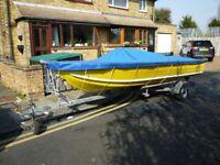 16' Fast Aluminium Fishing/Sports boat