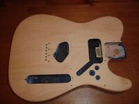 Mexican telecaster body plus all hardware.