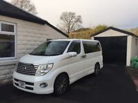 Nissan Elgrand E51 2006 luxury 8 seat 2.5l automatic
