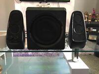 Wireless 2.1 sandstrom speaker system