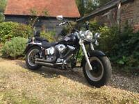 Harley-Davidson Fat Boy Softail EVO 1340 STUNNING (black) 1995