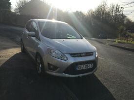 Ford c max 2012 titanium FSH alloys parking sensors