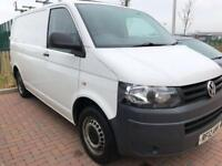 12reg 72000 FSH Volkswagen transporter T5 2ltr TDI T28 1 previous owner 1 year mot no vat