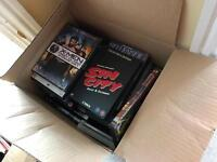 Large box of DVDs, loads of great movies and classics