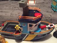 Imaginext ship and accessories