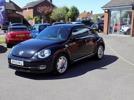 VOLKSWAGEN BEETLE 1.4 DESIGN TSI 3dr (158) ** Winter Pack & Fender Sound ** (black) 2013