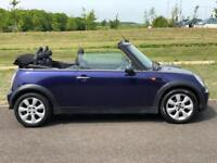 Convertible MINI Hatch 1.6 Copper, F S History With Allot of Receipts, Long MOT, Clutch @ 75K