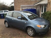 Mitsubishi colt cleartec £30 a year tax low mileage 34k £3400 ono