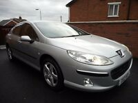 2006 peugeot 407 sv{63k,fpsh,long mot,parking sensors,6 months warranty}