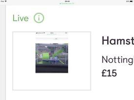 For sale hamster cage bargain £14