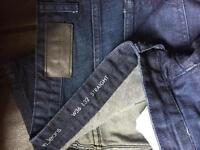 Calvin Kline men's jeans washed blue 36x32