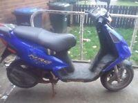 Blue piaggio nrg vision 50cc 2 stroke