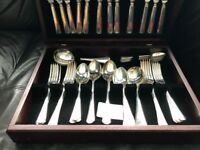 Arthur Price 44 piece silver plated cutlery set