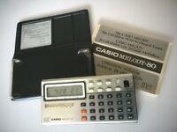 VINTAGE 1979 CASIO MELODY-80 MUSICAL CALCULATOR
