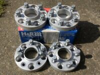 (FOUR) 25m H&R VAUXHALL 5x110 WHEEL SPACERS £145 ASTRA CORSA VECTRA OMEGA VXR SRI FOR ALLOYS