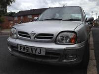 Nissan Micra Vibe 1.0 low milage full spec