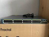 Cisco C2960s-48FPS-L POE+ Switch