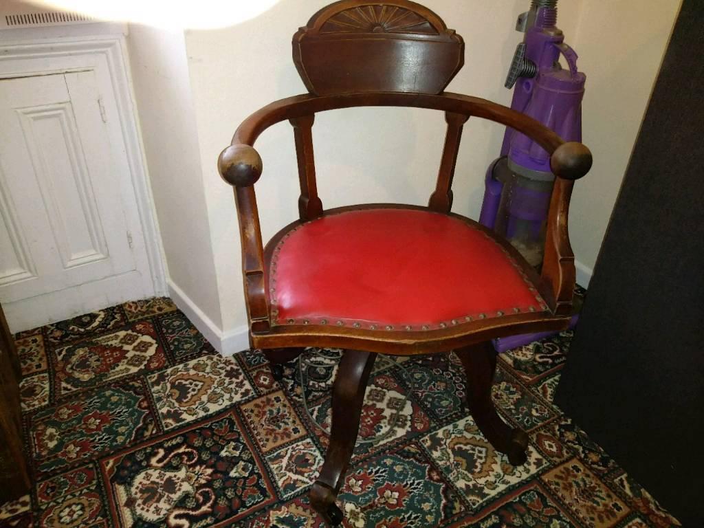 Art Deco Swivel Chair In Ferndale Rhondda Cynon Taf Gumtree