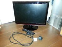 SAMSUNG SyncMaster T200HD 20 INCH LCD TV WITH REMOTE