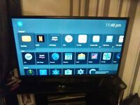 "brand new unopened 40"" smart tv £300 cash on collection"