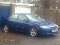 Mazda 6 clean car 2002reg short mot fsh cheap