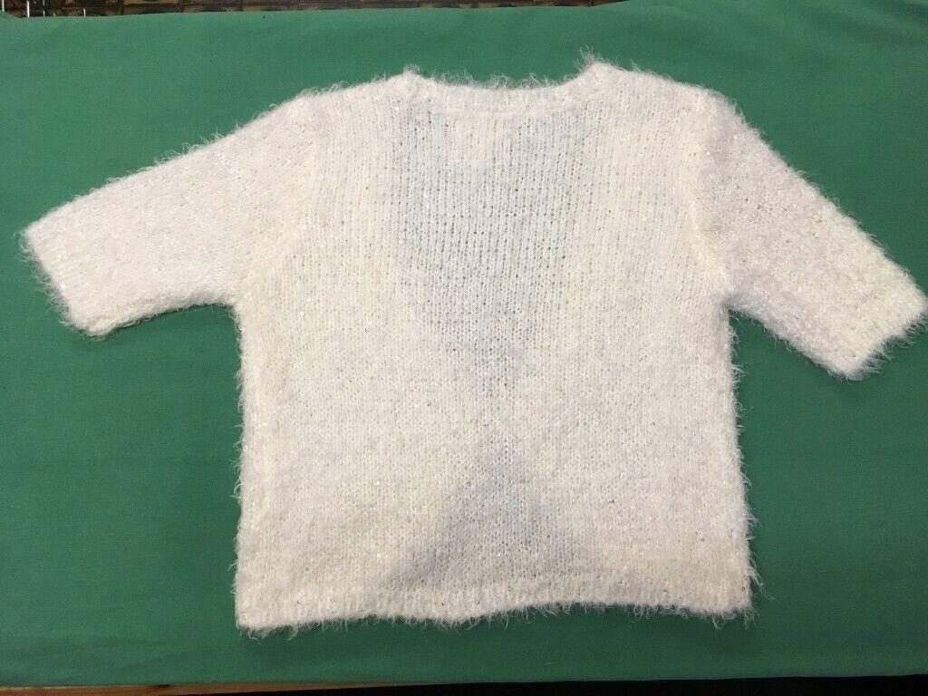 7c7b44aa9ff Ivory Cream Fluffy Bolero Shrug Cardigan BNWT Short Sleeves | in  Chelmsford, Essex | Gumtree