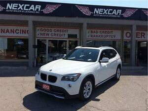 2012 BMW X1 AUT0 AWD LEATHER PANORAMIC ROOF 93K