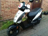 2012 Kymco Agility 125 automatic scooter, MOT, good condition, runs very well, bargain, not ps sh ..