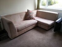 Beige 4 Seater Corner Suite Sofa