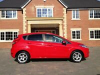 Ford Fiesta 1.2 Zetec, Only 22,000 miles, Full Service History, Bluetooth, Red, (2012-Reg) - 5 Door